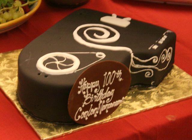 Nancarrow birthday cake.