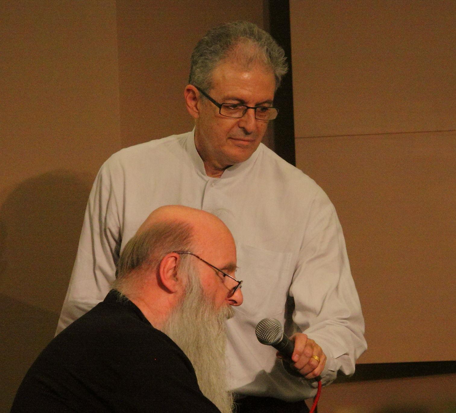 Charles Amirkhanian with Rex Lawson