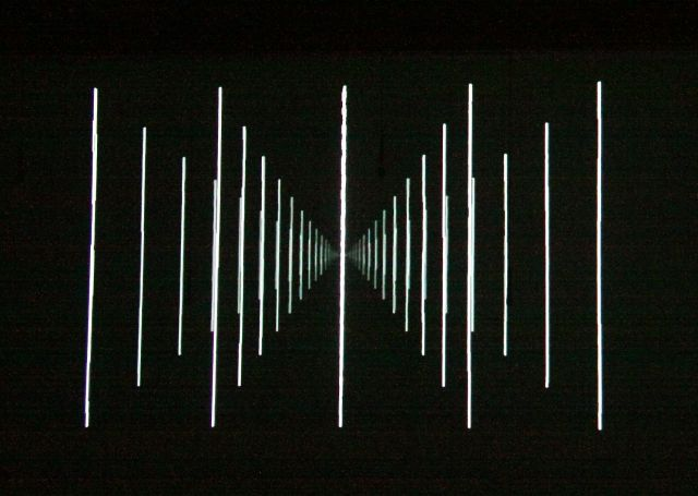 Ström, part of the video projection
