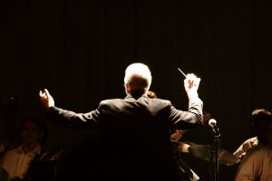 Chatham conducting.