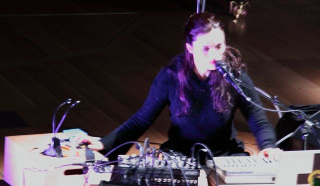 Maja S.K. Ratkje, voice and electronics