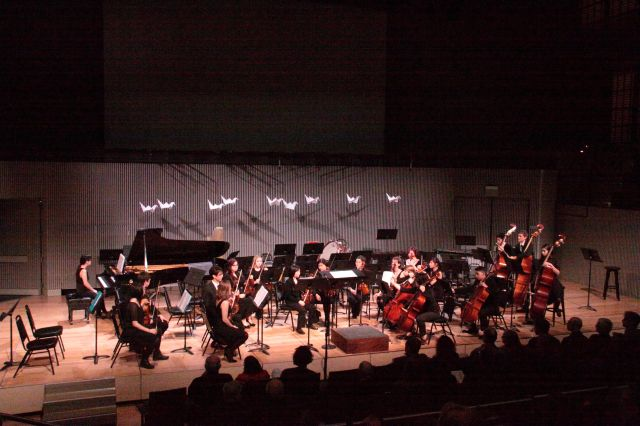 SOTA orchestral string with piano to accompany soprano Hasmik Papian in Mansurian's Canti Paralleli.