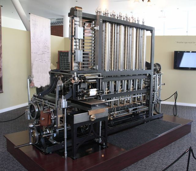 Babbage Difference Engine at the Computer History Museum