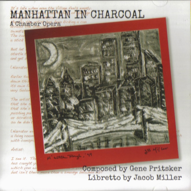Manhattan in Charcoal  COMCON 0021