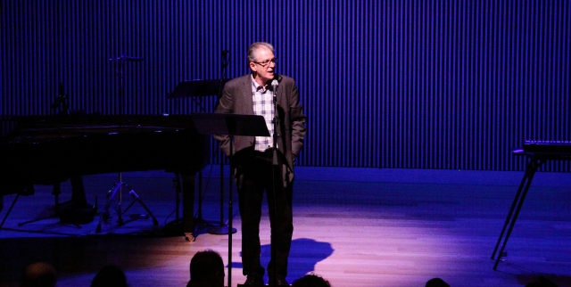 Charles Amirkhanian introduces Meredith Monk on the final day of OM 21